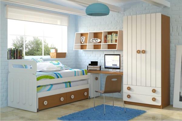 Decoraci n dormitorios juveniles madrid tiendas de for Dormitorios juveniles economicos
