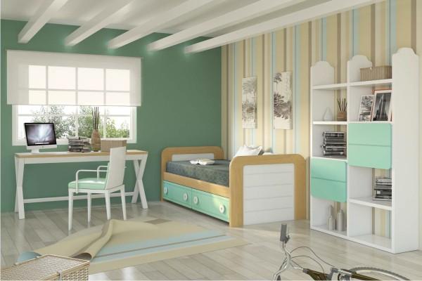 Dormitorios juveniles modernos decoraci n dormitorios for Habitaciones juveniles completas baratas