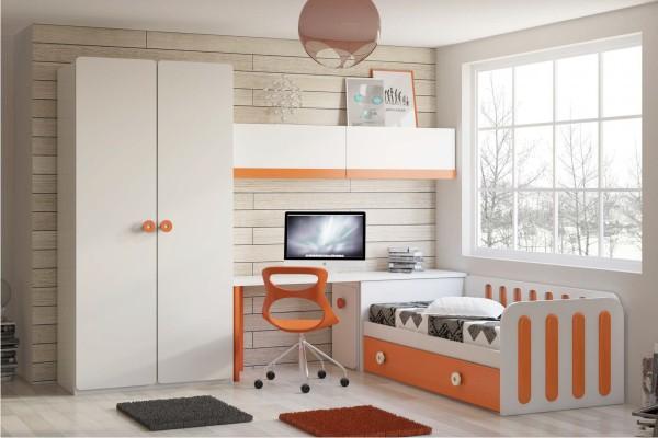 Dormitorios juveniles modernos decoraci n dormitorios - Dormitorios juveniles precios ...