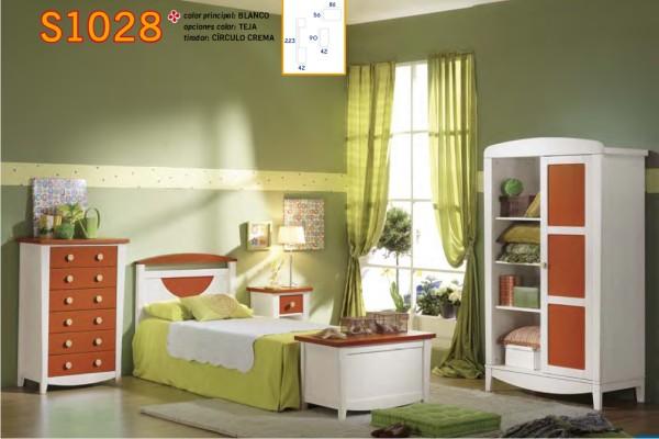 Dormitorios infantiles madrid tiendas de muebles for Dormitorio nina barato