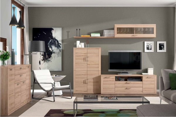 muebles tv para salones pequenos