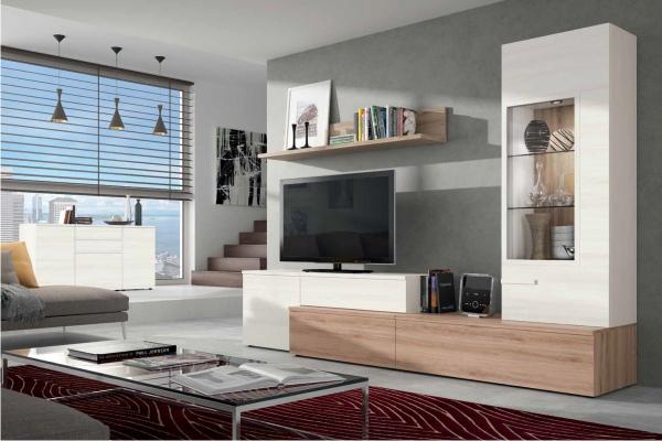Mueble De Salon Modular Moderno En Madrid Barato - Mueble Comedor ...