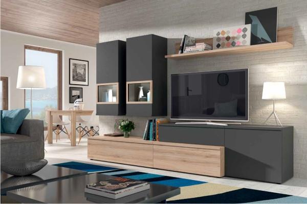 mueble modular salon peque o en madrid barato liquidacion