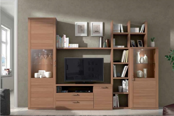 Muebles modulares para televisi n tv en madrid barato for Modulares de comedor