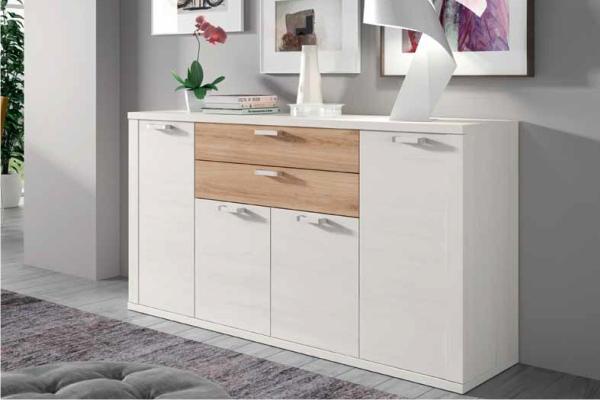 Mueble modular salon peque o en madrid barato liquidacion for Muebles salon modulares