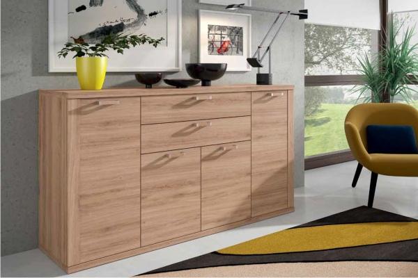 Mueble modular salon peque o en madrid barato liquidacion for Muebles de salon pequenos