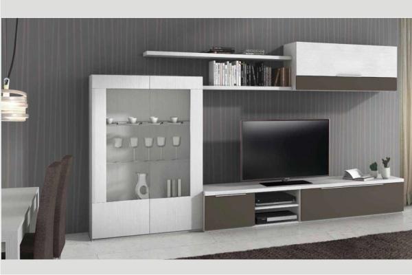 Muebles modulares salon liquidacion tienda mueble for Muebles de salon madrid