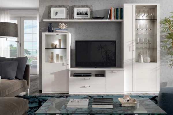 Muebles modulares para televisi n tv en madrid barato - Muebles estanterias modulares ...