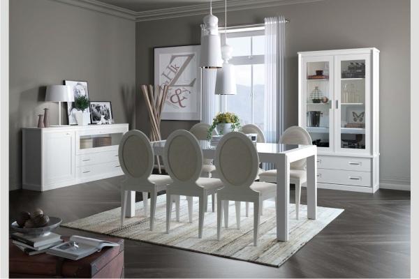 Salon colonial madrid tienda liquidacion ofertas salon for Muebles coloniales blanco
