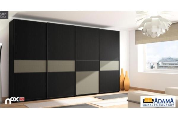 Armarios dormitorio tienda liquidacion ofertas armario for Muebles puertas correderas baratos