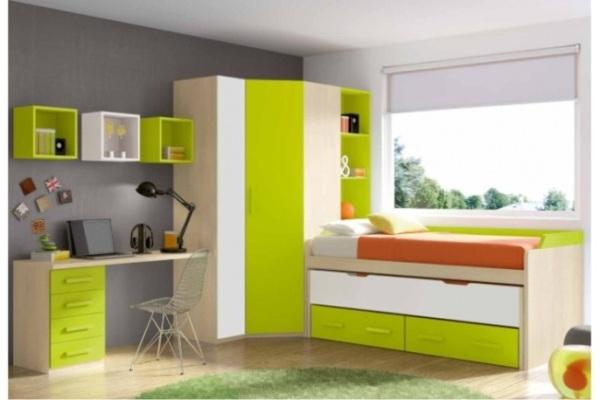Bonito cuartos juveniles baratos fotos habitaciones for Habitaciones juveniles completas baratas