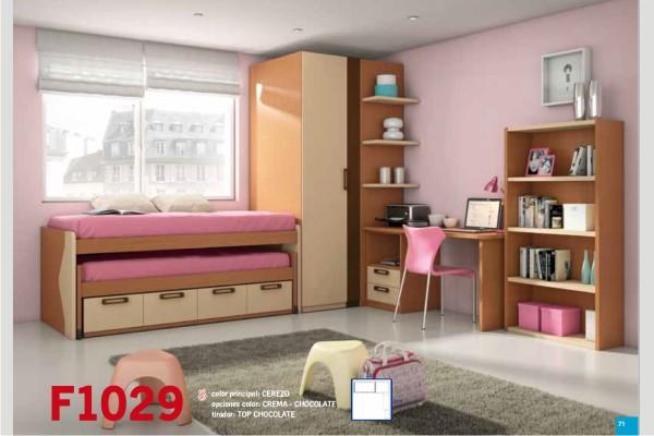 Muebles jamar camas dobles 20170814084718 - Dormitorios dobles juveniles ...