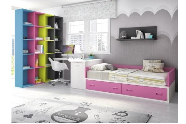 Camas juveniles modernas tienda liquidacion ofertas cama juvenil dormitorio carabanchel - Dormitorios juveniles en madrid ...