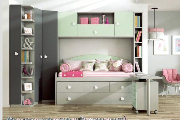 Camas abatibles horizontales madrid tienda camas for Literas juveniles economicas