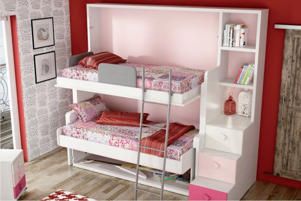 Camas Horizontales Juveniles Abatibles Muebles Madrid, Cama