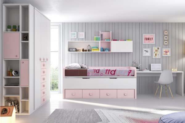 Mueble juvenil compacto tienda liquidacion oferta for Armarios juveniles baratos