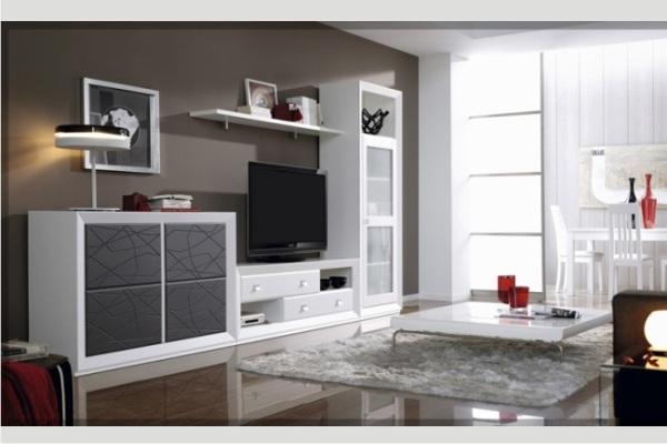 Mueble modular tienda liquidacion ofertas mueble for Modulos para salon baratos