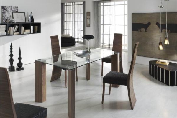 Conjunto mesa y sillas madrid. tienda muebles adama exposicion de ...