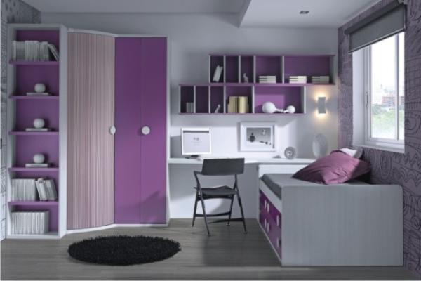 dormitorio juvenil moderno tienda liquidacion ofertas On liquidacion muebles juveniles madrid