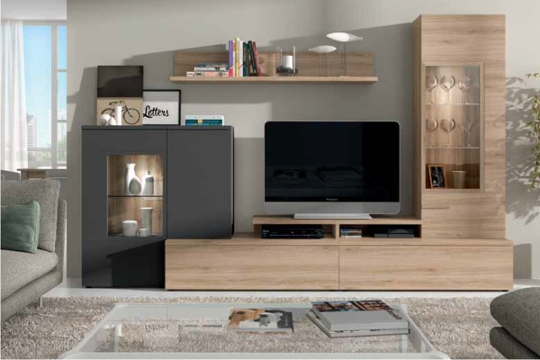 Mueble modular tienda liquidacion ofertas mueble - Composiciones de salon ...
