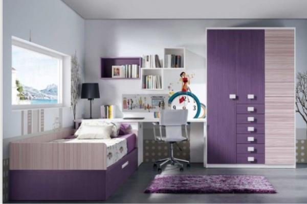 Sinfonier dormitorio juvenil tienda liquidacion ofertas for Formas muebles juveniles