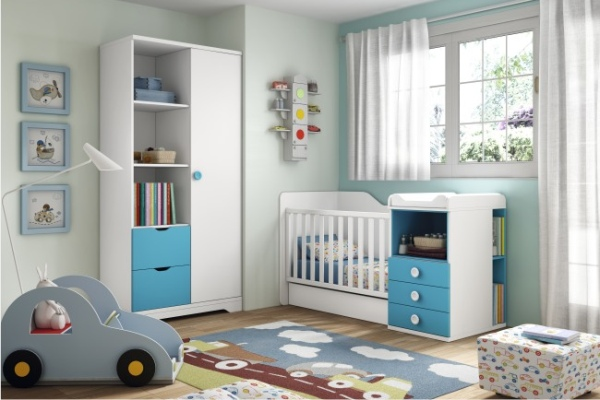 Conjuntos cuna tienda liquidacion ofertas muebles for Exposicion muebles madrid