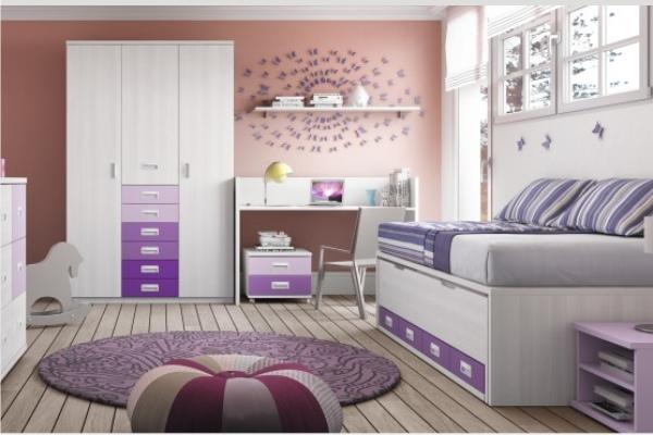 Habitaciones infantiles madrid dormitorios infantiles - Cuartos infantiles nina ...
