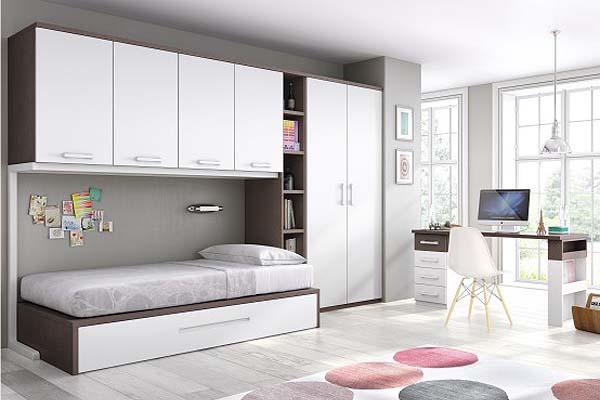 Mueble juvenil compacto tienda liquidacion oferta - El mueble dormitorio juvenil ...