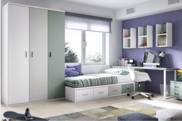 Camas dormitorio juvenil tienda liquidacion ofertas for Liquidacion camas nido