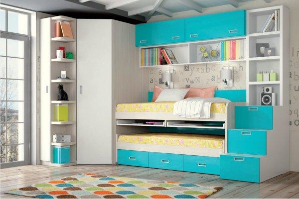 Literas muebles dormitorio juvenil tienda liquidacion for Literas infantiles baratas