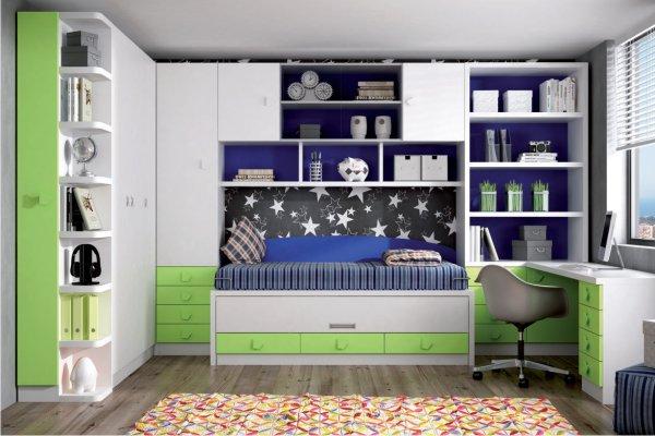 Dormitorio juvenil moderno tienda liquidacion ofertas - Mobiliario juvenil moderno ...