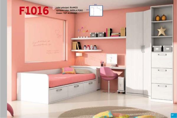 Mueble juvenil compacto tienda liquidacion oferta for Mesillas de habitacion