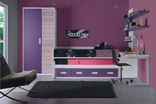 Dormitorio juvenil moderno tienda liquidacion ofertas for Muebles juveniles modernos