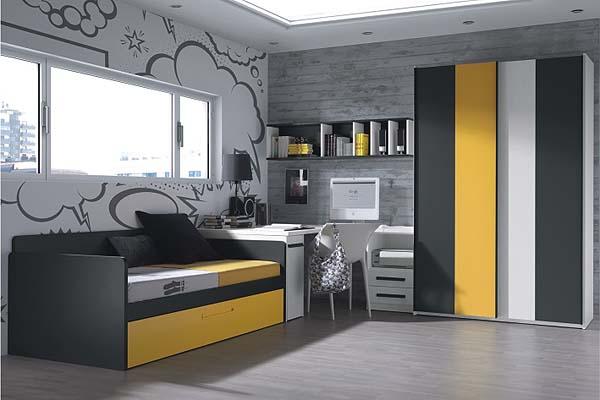 Cama nido muebles dormitorio juvenil ni os tienda for Ofertas de muebles juveniles