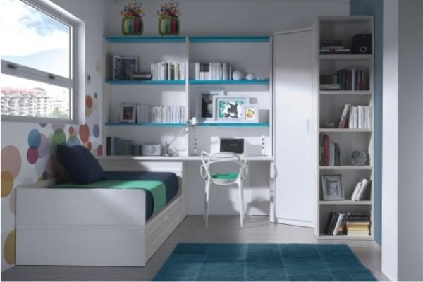 Cama nido muebles dormitorio juvenil ni os tienda for Exposicion muebles madrid