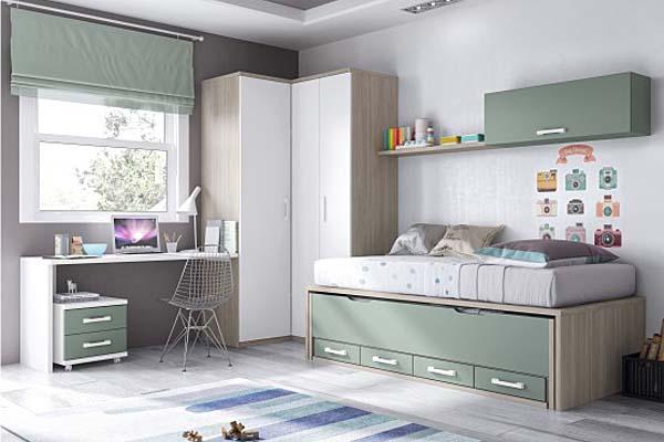 Muebles dormitorio escritorio juvenil tienda liquidacion ofertas mueble dormitorio escritorio - Dormitorios juveniles almeria ...