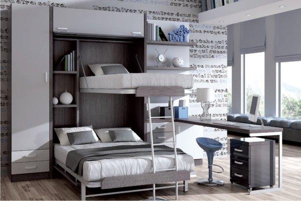 literas muebles dormitorio juvenil tienda liquidacion On liquidacion muebles juveniles madrid