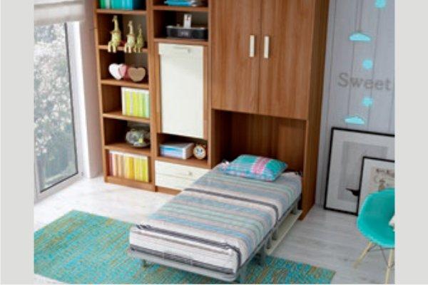 Camas Verticales Juveniles Abatibles Muebles Madrid, Cama, Abatibles