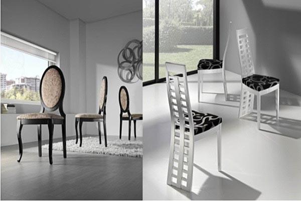 Tienda de sillas madrid silla de mesa visita trabajo for Sillas comedor madrid