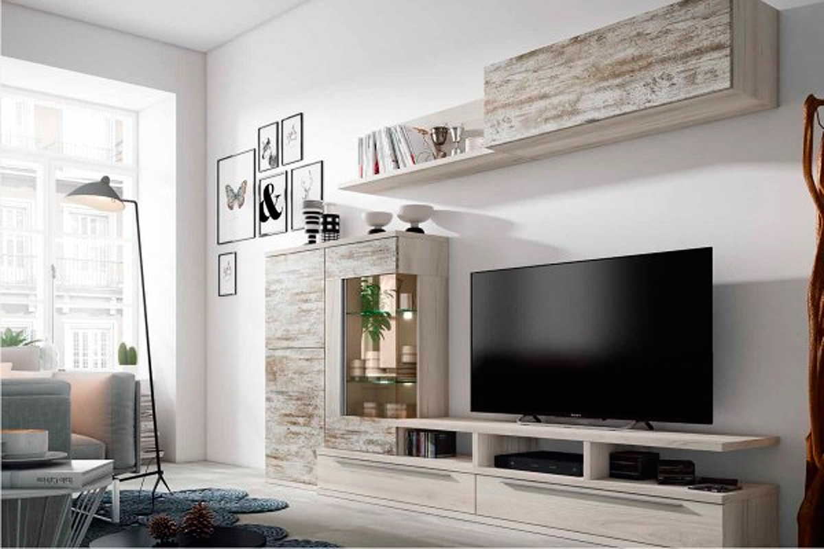 Tienda de muebles en madrid de sal n sofas dormitorios for Muebles de pladur para salon