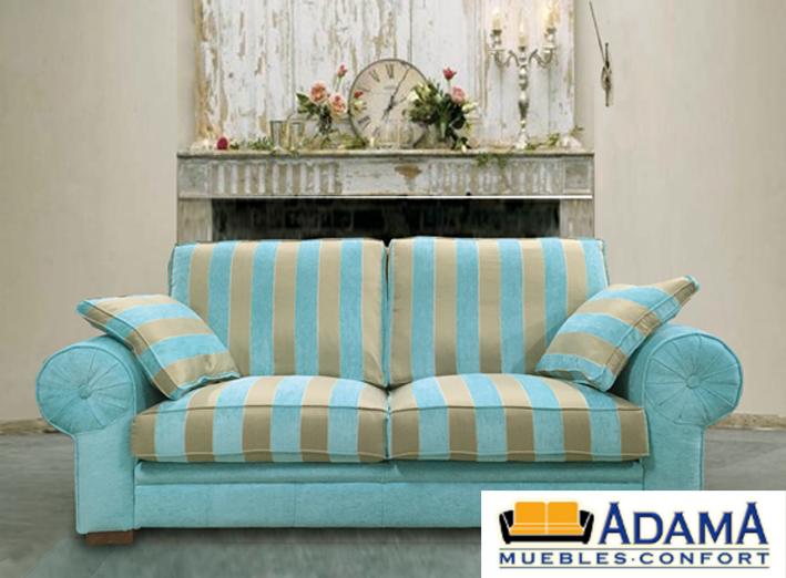 Sof 3 plazas poca muebles adama tienda de muebles en for Epoca muebles