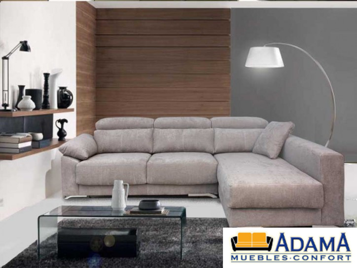 Chaise longue targa incluye asientos deslizantes muebles for Muebles adama