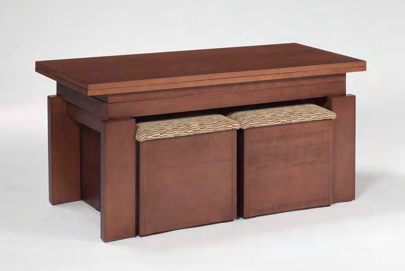 Mesa de cuatro posiciones elevable 110 x 45 x 57 ( 75 ) cm.
