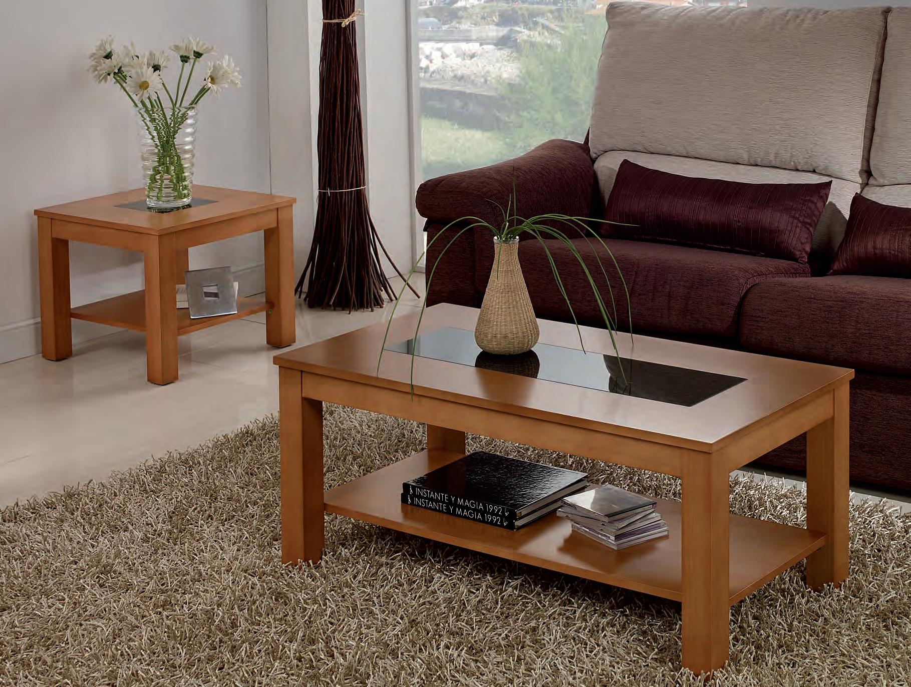 Mesa de rinc n fija 1 cristal muebles adama tienda de - Mesas de rincon ...