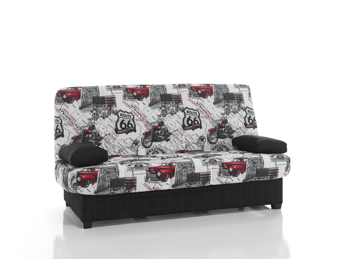 Tienda de muebles en madrid de salon mesas sillas for Sofa cama libro con arcon