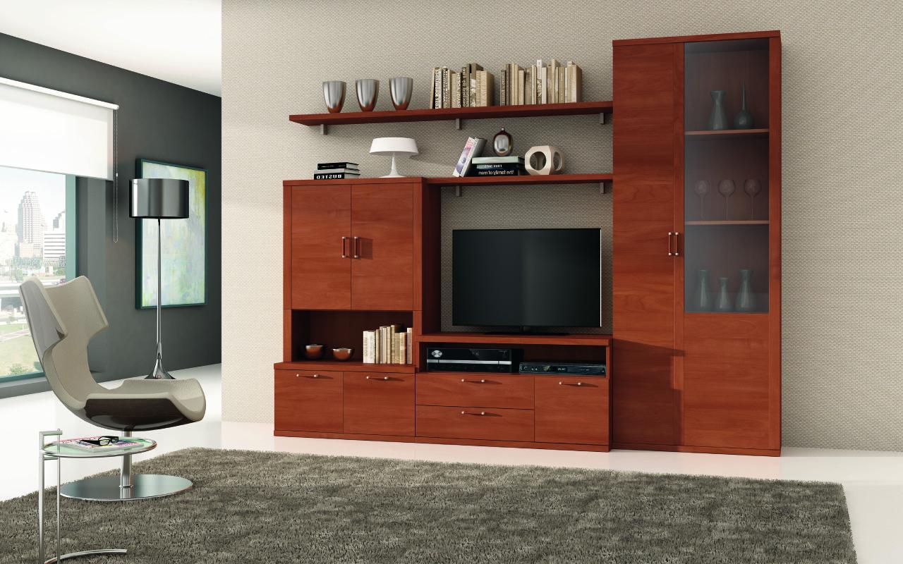 Mueble de sal n estilo cl sico y gran capacidad de almacenaje muebles adama tienda de muebles - Muebles clasicos salon ...
