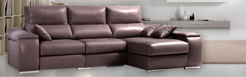 Sof chaise longue 250x160 cms con arc n abatible en el - Sofa con chaise ...