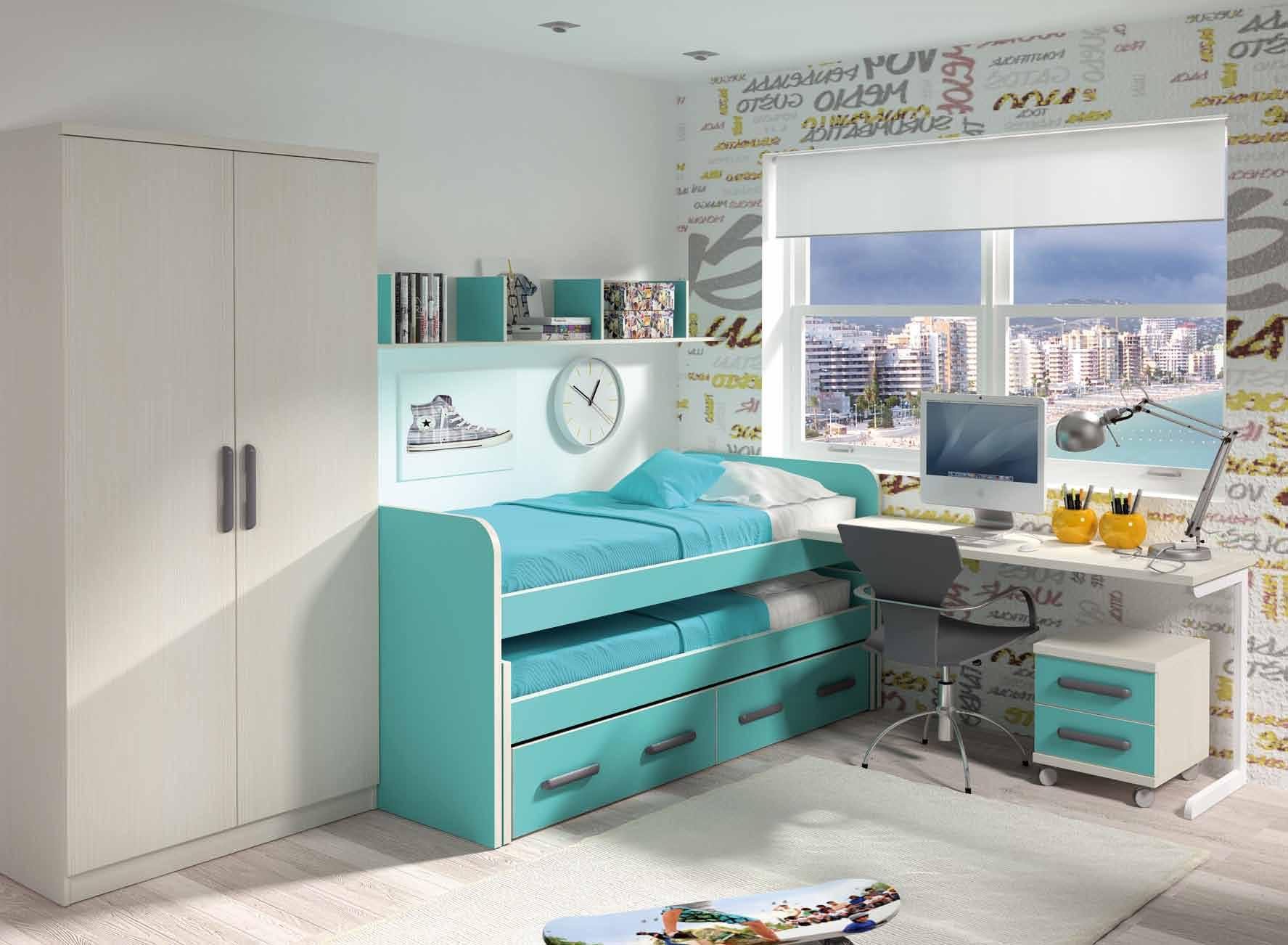 Dormitorio juvenil muebles adama tienda de muebles en madrid - Ver habitaciones infantiles ...