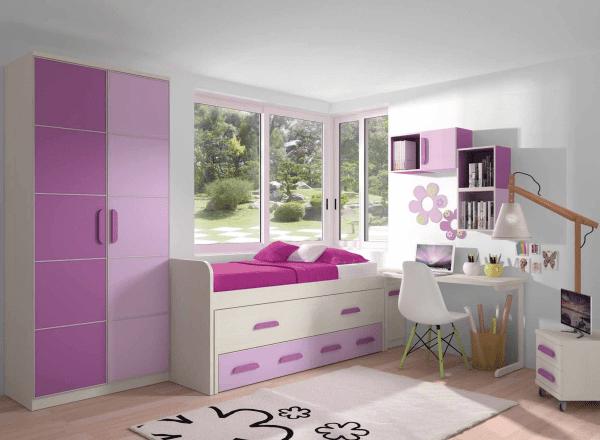 Dormitorio juvenil muebles adama tienda de muebles en madrid for Muebles adama