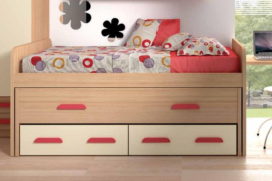 Cama nido compacta dormitorio juvenil muebles adama for Cama nido dormitorio juvenil